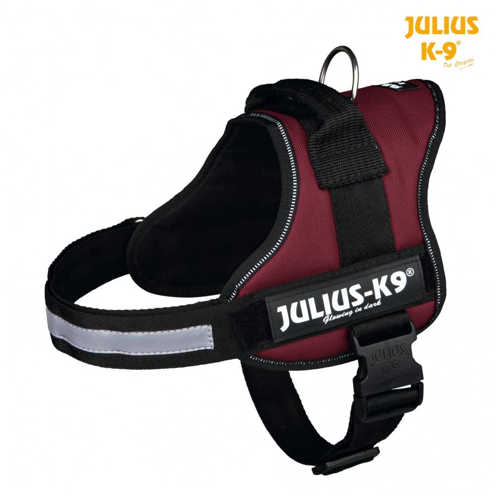 Harnais pour chien Taille Mini-Mini Noir Julius-K9